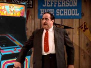 Al Delvicchio in the grips of Pac-Man Fever