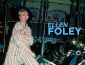 Actress/singer Ellen Foley, before leaving the cast like a bat out of hell