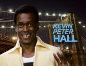 "7'4"" actor Kevin Peter Hall spent three years as the higest paid employee of General Electric"
