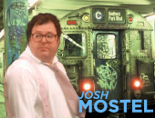 Josh Mostel, son of Zero Mostel and future star of Stoogemania